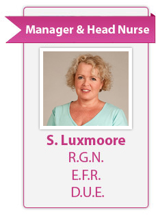 Sally Luxmoore Head Nurse
